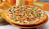 La pizza vegetarienne