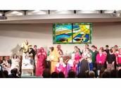 The Nativity at the Christmas Program