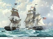 Naval Battle on The war of 1812