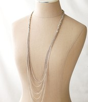 Cascading Chain necklace
