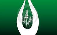 Burning biomass symbol