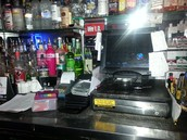 OLD-FASHIONED CARD HOLDERS BEING USED AT TAVERNS