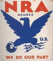 Image of The NRA Blue Eagle