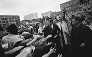 JFK Greeting People