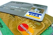 Use a credit card sparingly