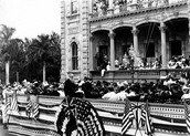 Annexation ceremony in Honolulu.