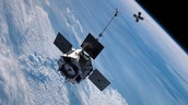 space probe around the earth