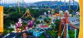 Most popular landmark is Six Flag's Mexico