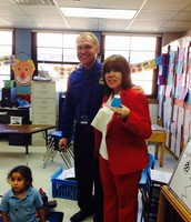 Mr. Laudig's Pre Kinder class was the winner of the Second Six Weeks highest student attendance.