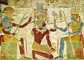 Amun- god of son and creator of all things