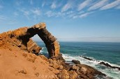 Bogenfels Arch: Water and Wind Erosion