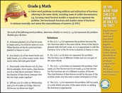 CCRS Math Standard of the Week - 5th grade