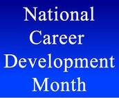 November is National Career Development Month!