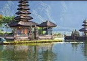 One of Indonesia's lakes