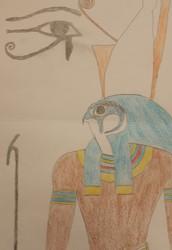 Horus egypitsche god