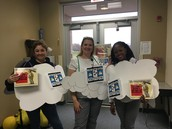 The first grade teachers are the brightest bunch of clouds!