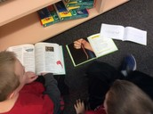 Informational books are used for research