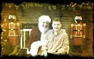 Jacob with Santa