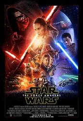 Nieuwe Star Wars film in de cinema.