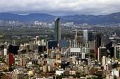 מקסיקו סיטי ממבט אווירי