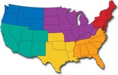 Regions of the United States Research Projects