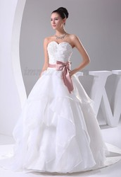 Choose Classic and Gorgeous Wedding Dresses- Elegant Style with Fitted Bodice