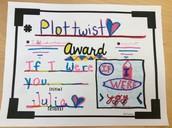 """5th Grade """"Hashtag"""" Book Awards!"""
