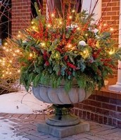 Create Your own Holiday Planter