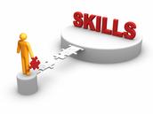 Aptitudes/skills necessary for the job