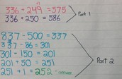 Moving & Partial Subtraction