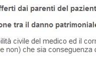 Danno dei parenti del paziente
