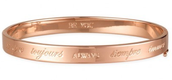 Inspiration Bangle- Rose Gold
