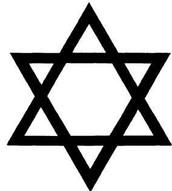Star of david symbolizes the Jewish people