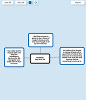 Stop and Jot Using Popplet