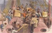 Boston Tea Party by anonymous
