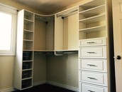 Starting Jan 2016 Five Star Moulding Company offers Custom Closet Installation Services