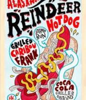 Reindeer hot dog