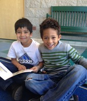Uri and Donovan love reading groups
