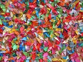 1,000 cranes of hope