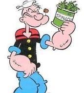 Do you want muscles like Popeye?