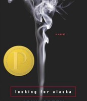 Another one of the covers of Looking For Alaska.