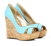 Turquoise Open-toed Shoes!