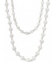 Devon Layering Necklace- Silver
