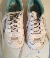 Stride Rite white lace sneakers 12.5, barely worn $10