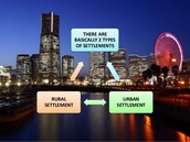 Two types of settlements