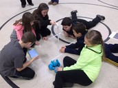 Mrs. Borman's Students Learn Geometry With Robots