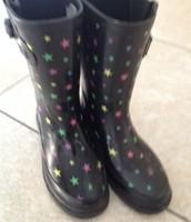 Cherokee size 13 rain boots $5
