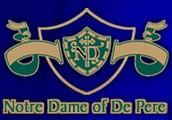 We are Notre Dame of De Pere