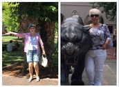 Mis abuelas son Lulu y Bernice.