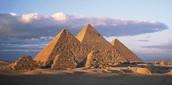 Pyramid Monuments at Giza